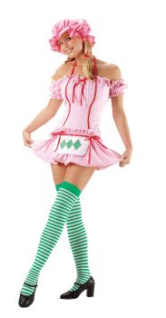 Women's Strawberry Doll Costume - Adult Large