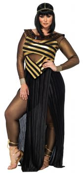 Women's Plus Size Nile Queen Costume - Adult 1X/2X