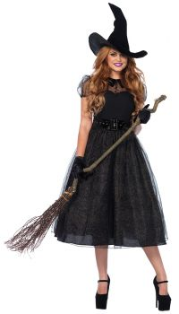 Women's Darling Witch Spellcaster Costume - Adult Small