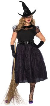 Women's Plus Size Darling Spellcaster Costume - Adult 1X/2X