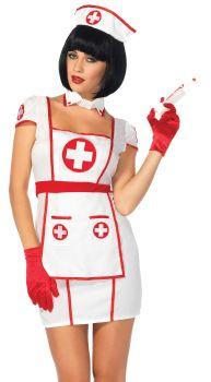 Women's Hospital Heartbreaker Costume - Adult S/M