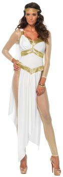 Women's Golden Goddess Costume - Adult Small