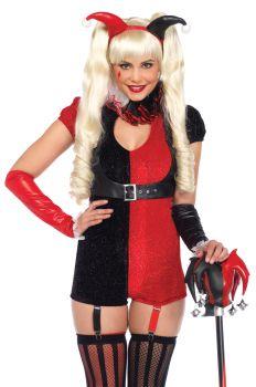 Women's Jester Mischief-Maker Costume - Adult X-Small