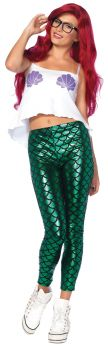 Women's Hipster Mermaid Costume - Adult X-Small