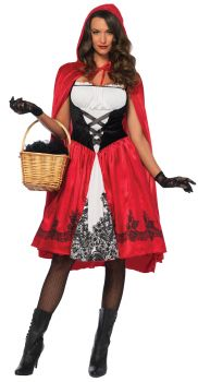 Women's Classic Red Riding Hood Costume - Adult Small