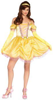 Women's Enchanting Princess Beauty Costume - Adult M/L