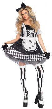Women's Wonderland Alice Costume - Adult Small