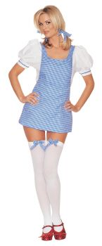Women's Sexy Dorothy Costume - Wizard Of Oz - Adult S/M