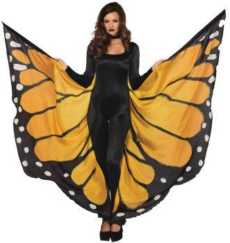 Monarch Butterfly Festival Wings - Orange/Black