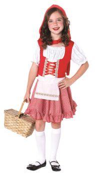 Lil Miss Red Costume - Child Medium