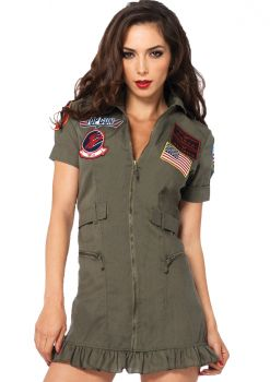 Women's Top Gun Flight Dress - Adult Small