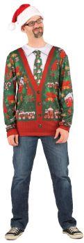 Ugly Christmas Cardigan Costume - Adult L (42 - 44)