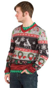 Ugly Christmas Frisky Deer Xl