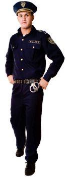 Men's Police Costume - Adult L (42 - 46)