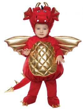 Dragon Costume - Toddler Large (2 - 4T)