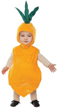 Carrot Costume - Toddler Large (2 - 4T)