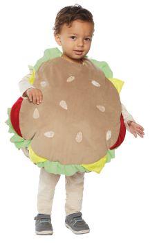 Hamburger Costume - Toddler Large (2 - 4T)