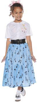 50s Skirt Set - Child L (10 - 12)