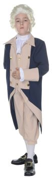Boy's George Washington Costume - Child L (10 - 12)