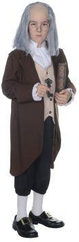 Boy's Ben Franklin Costume - Child L (10 - 12)