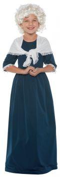 Girl's Martha Washington Costume - Child L (10 - 12)