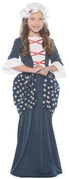 Girl's Betsy Ross Costume - Child L (10 - 12)
