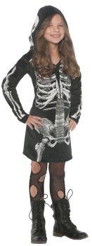 Girl's Bones Dress - Child L (10 - 12)