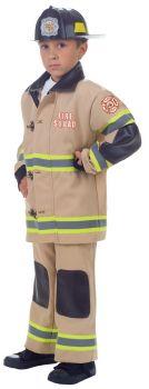 Boy's Firefighter Costume - Child L (10 - 12)