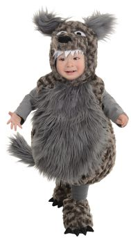Wolf Costume - Toddler Large (2 - 4T)