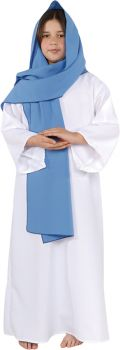 Girl's Mary Costume - Child L (10 - 12)
