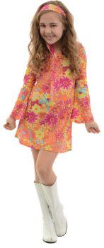 Girl's Flower Child Costume - Child L (10 - 12)