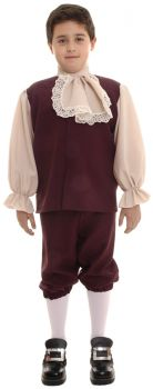 Boy's Colonial Costume - Child L (10 - 12)