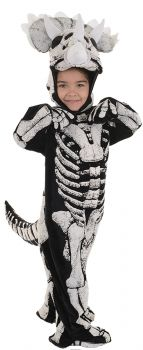 Triceratops Fossil Costume - Toddler Large (2 - 4T)