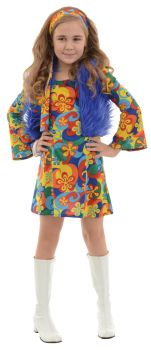 Girl's Far Out Costume - Child L (10 - 12)