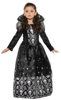 Girl's Dark Princess Costume - Child L (10 - 12)