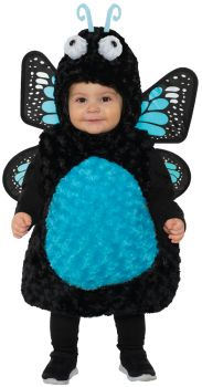 Girl's Butterfly Toddler Costume - Blue - Toddler Large (2 - 4T)