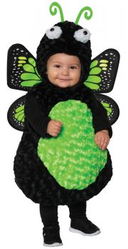 Girl's Butterfly Toddler Costume - Green - Toddler Large (2 - 4T)
