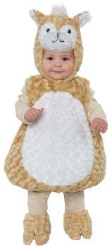 Llama Toddler Costume - Toddler Large (2 - 4T)