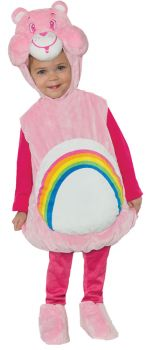 Care Bears Cheer Bear Belly Baby - Toddler Large (2 - 4T)