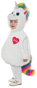 Build-A-Bear Color Craze Unicorn Belly Baby - Toddler Large (2 - 4T)