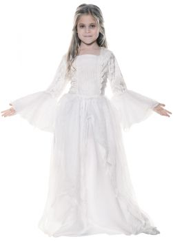Girl's Ghostly Spirit Child Costume