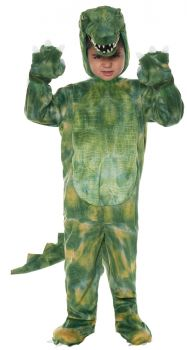 Deluxe Alligator Toddler Costume - Toddler Large