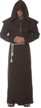 Men's Monk Robe - Brown - Adult OSFM