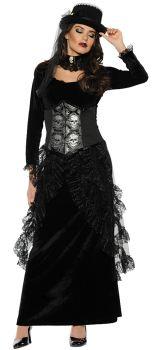 Women's Dark Mistress Costume - Adult Small