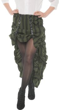 Steam Punk Skirt - Green - Adult Large
