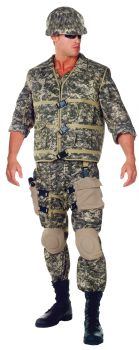 U.S. Army Ranger Deluxe Costume - Adult X-Large