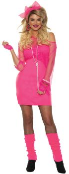 Totally 80s-neon Pink Xl