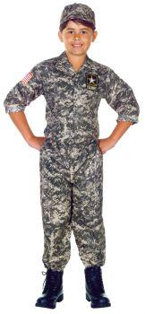 U.s. Army Camo Set Child 10-12