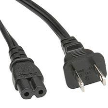 US Power Cable - 2 Pin