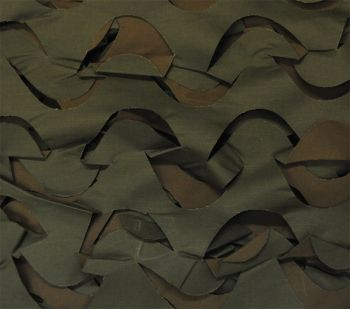 Camouflage Netting - Brown/Green - 8' x 20'